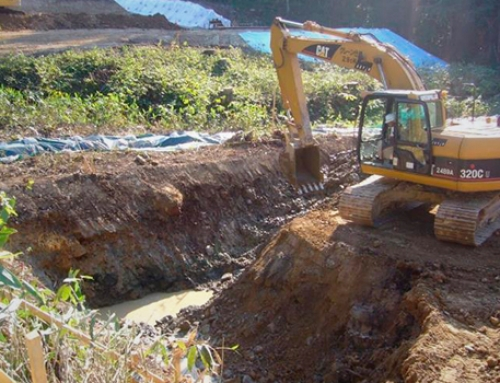 Wastewater treatment in construction sites