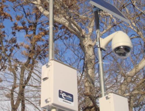 Cameras for construction site surveillance
