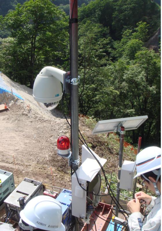 Cameras for construction site surveillance - Nihon Kasetsu Europe