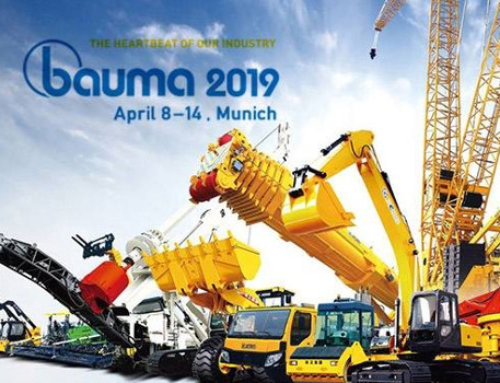 Once again we'll be exhibiting at BAUMA trade show